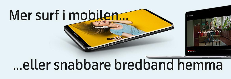 bredband hemma på företaget