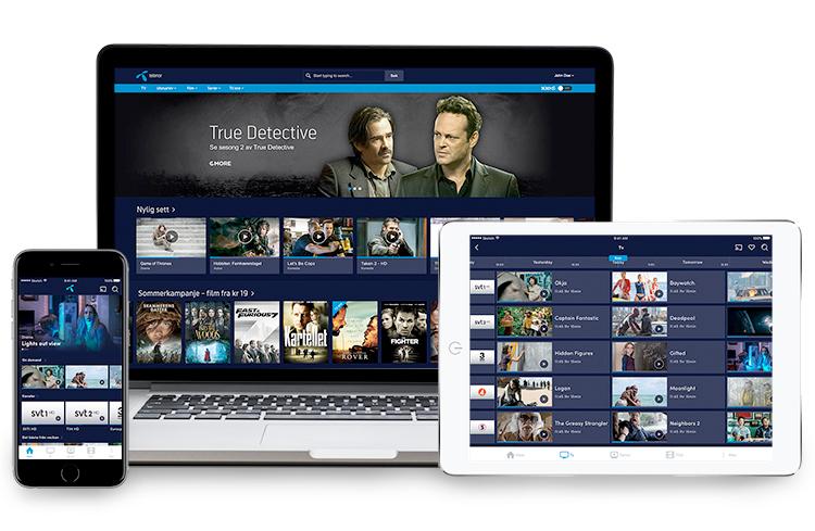 streama film mobilt bredband