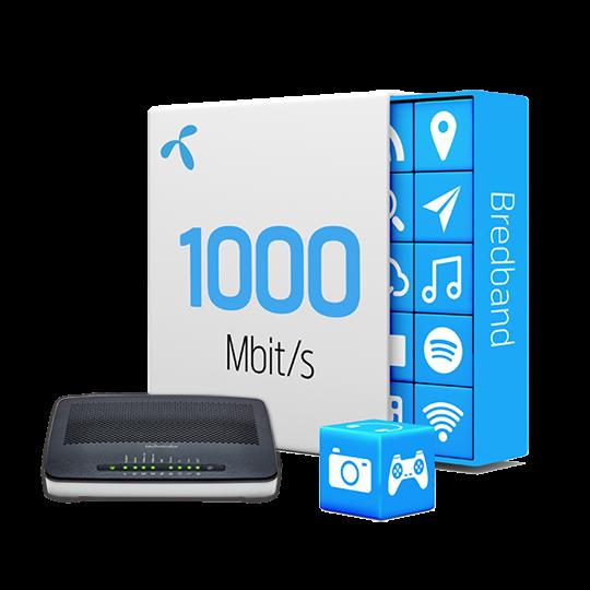 hastighet bredband fiber