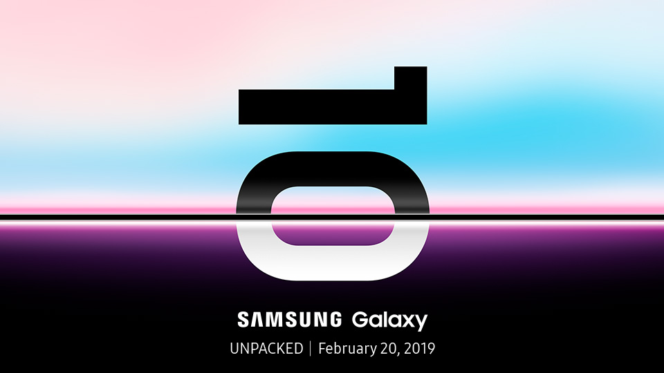 Samsungs event Galaxy Unpacked hålls den 20 februari 2019