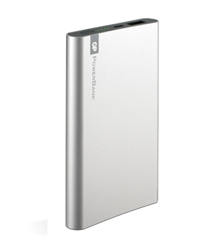Portabel GP Powerbank i silver
