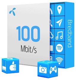 mobilt bredband 100 mbit