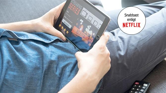 netflix mobilt bredband